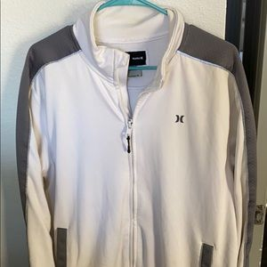 Athletic, thick Hurley zip up